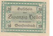 20 Heller (Senftenbach) -  obverse