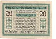 20 Heller (Senftenbach) -  reverse