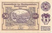 50 Heller (Senftenberg) -  obverse