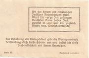 50 Heller (Senftenberg) -  reverse