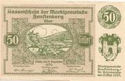 50 Heller (Senftenberg) – obverse