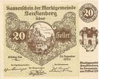 20 Heller (Senftenberg) -  obverse