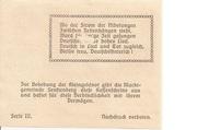 20 Heller (Senftenberg) – reverse