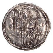 Coronation Dinar - Stefan Uroš IV Dušan (Serbian Empire) – reverse