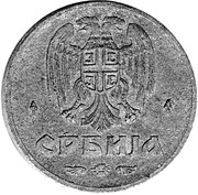 50 Para (German Occupation) – obverse