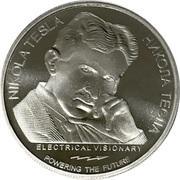 100 Dinara (Nikola Tesla) – reverse