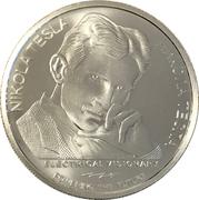 100 Dinara (Nikola Tesla, Remote Control) – reverse