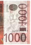1,000 Dinara (NBS logo) -  obverse
