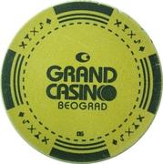 Token - Grand Casino (Beograd) – obverse