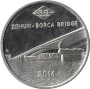 Token - Zemun (Borca bridge) – obverse
