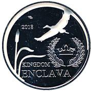 25 Bitcoins (Kingdom of Enclava) – obverse