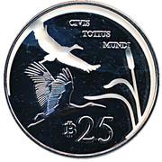 25 Bitcoins (Kingdom of Enclava) – reverse