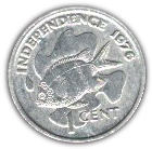 1 Cent (Independence) – reverse