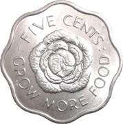 5 Cents - Elizabeth II (FAO) – reverse