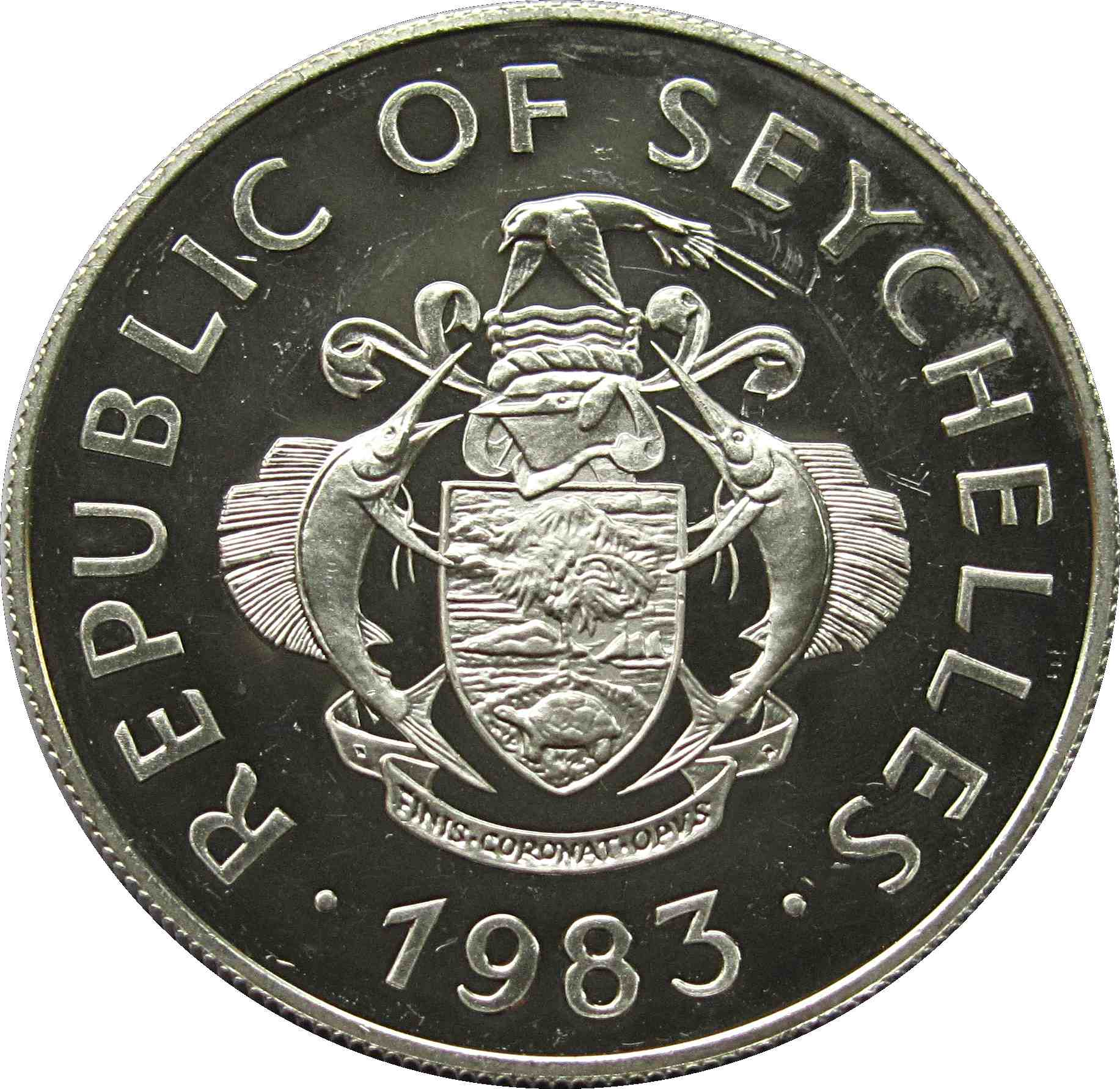 Seychelles 10 Rupees P 28 ND 1983 UNC Low Shipping Central Bank Combine FREE