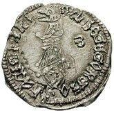 1 Grosso - Balsa III Durdevic (Lord of Zeta, Shkoder mint) – obverse