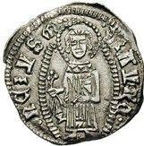 1 Grosso - Balsa III Durdevic (Lord of Zeta, Shkoder mint) – reverse