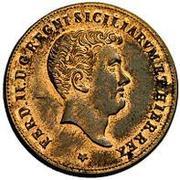 2 Grani - Ferdinando II – obverse