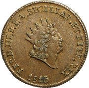 5 Grani - Ferdinando III – obverse