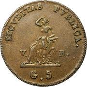 5 Grani - Ferdinando III – reverse