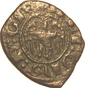 1 Denaro - Alfonso V – obverse