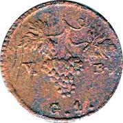1 Grano - Ferdinando III – reverse