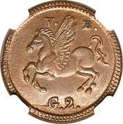 2 Grani - Ferdinando III – reverse