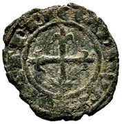 1 Denaro - Carlo I d'Angio – reverse