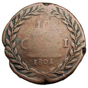 10 Grani - Ferdinando III – reverse