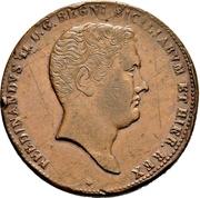 10 Grani - Ferdinando II – obverse