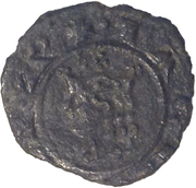 1 Denaro - Carlo I d'Angio – obverse