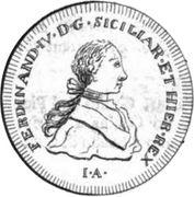 60 Grani - Ferdinando IV – obverse