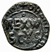 1 Follaro - William II (1166 - 1189) – obverse