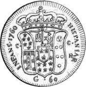 60 Grani - Ferdinando IV – reverse