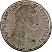 12 Tari - Ferdinando I – obverse