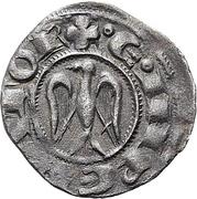 1 Denaro - Henry VI and Frederick II (HRE) – reverse