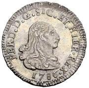 1 Tarí - Ferdinando III – obverse