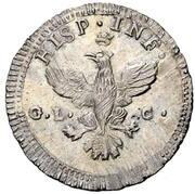 1 Tarí - Ferdinando III – reverse