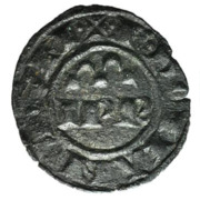 Denier - Federico II – obverse