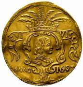 1 Scudo d'Oro - Carlo II – obverse