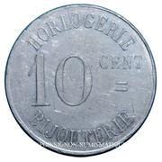 10 Centimes (Horlogerie Plantier-Boissonet) – reverse