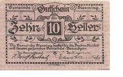 10 Heller (Sierning) -  obverse
