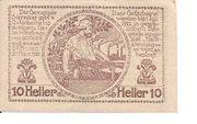 10 Heller (Sierning) -  reverse