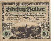 50 Heller (Sierning) -  obverse