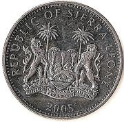 1 Dollar (Gorilla) – obverse
