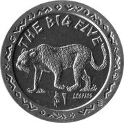 1 Dollar (Leopard) – reverse