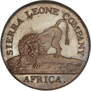 1 Cent (Sierra Leone Company) -  obverse
