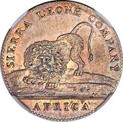 20 Cents (Sierra Leone Company) – obverse