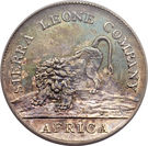 50 Cents (Sierra Leone Company) – obverse