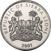 1 Dollar (Black Panther) – obverse